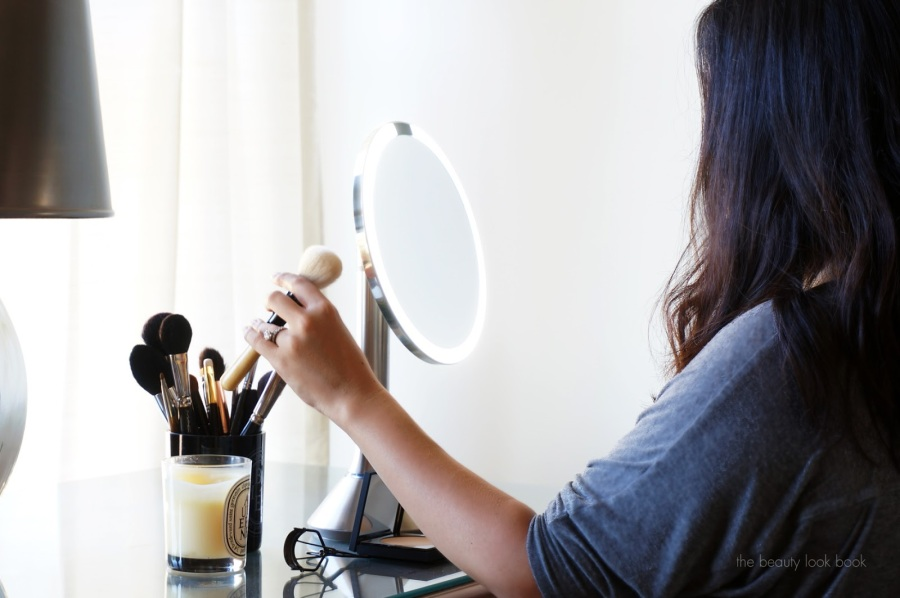 The Beauty Look Book with Simplehuman Sensor Mirror