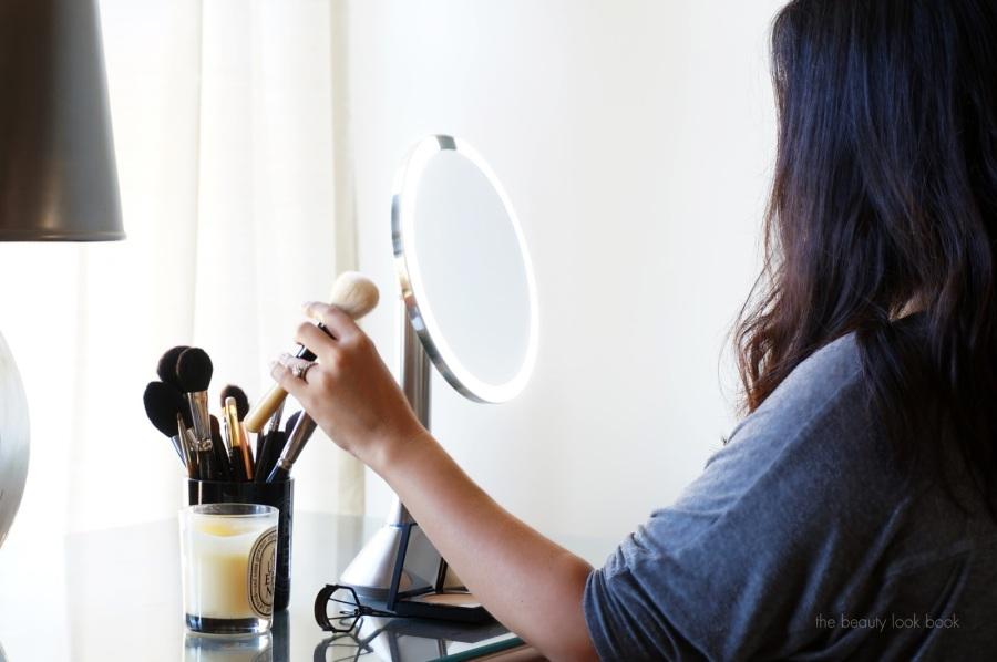 The Beauty Look Book with Simplehuman Sensor Mirror