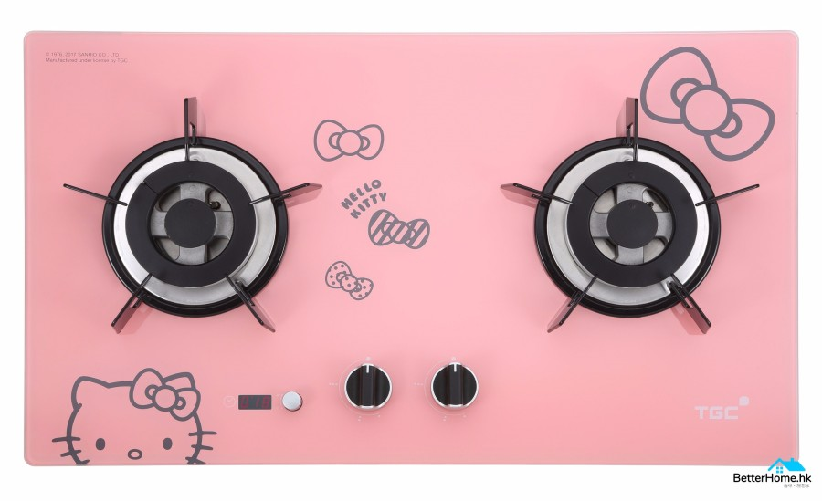 TGC x Hello Kitty Boilt-in Hob(pink)_LR (1)