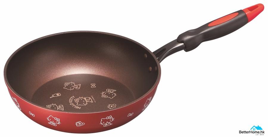 TGCxHello Kitty FRY PAN 26cm_LR (1)